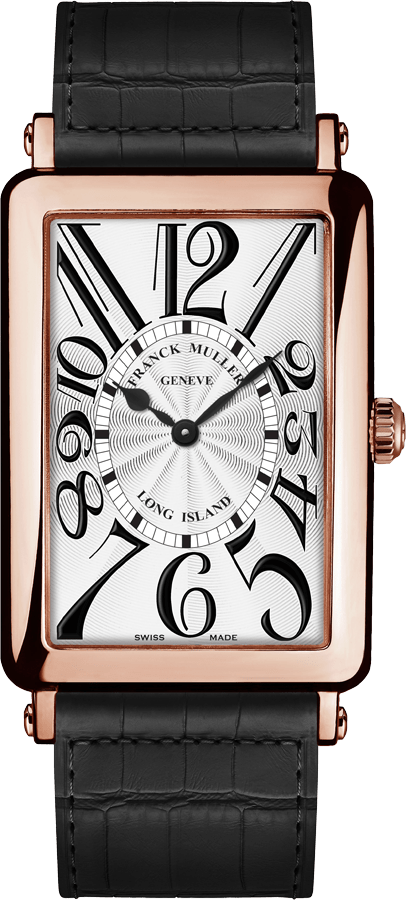 Front view of Franck Muller Long Island
