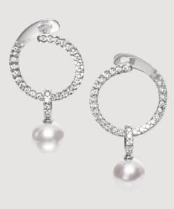 Mikimoto Prestige earrings