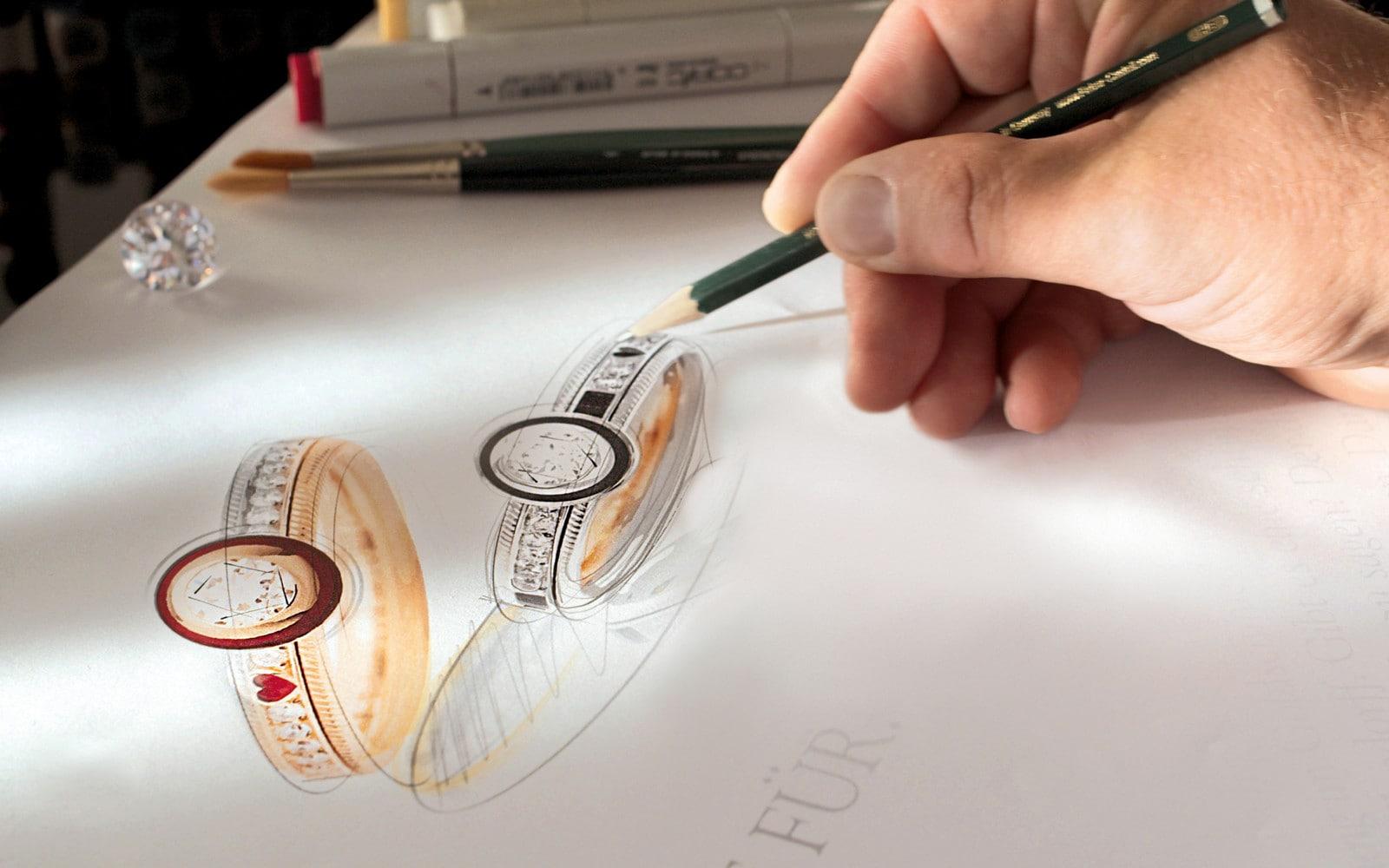 Sketches of Wellendorff rings